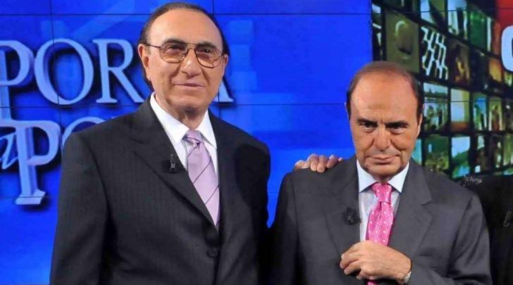 Pippo Baudo e Bruno Vespa