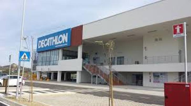 Lo store Decathlon di Dragonara