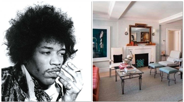 appartamento di Jimi Hendrix