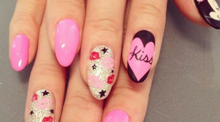 Nail art per San Valentino
