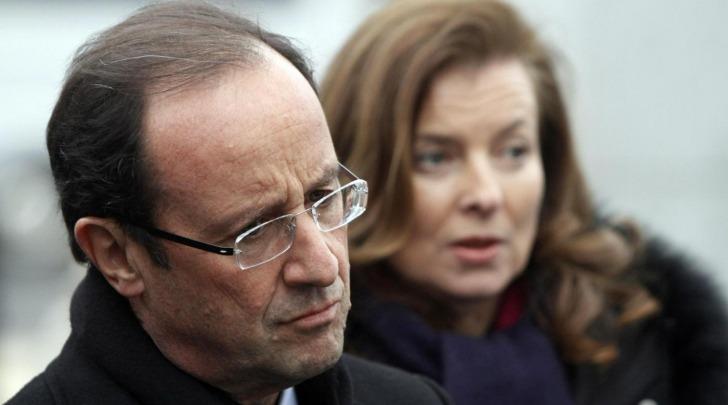 Francois Hollande e Valérie Trierweiler