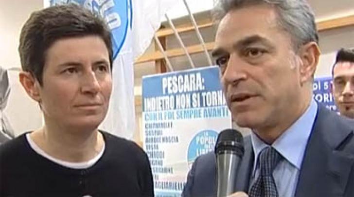 Federica Chiavaroli e Nazario Pagano