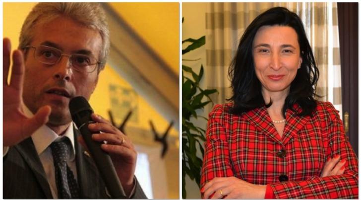 Gianni Chiodi e Letizia Marinelli