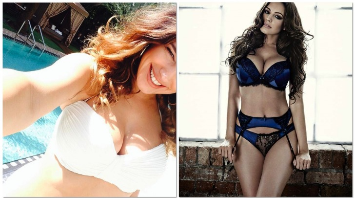 Kelly Brook prima e dopo il Photoshop