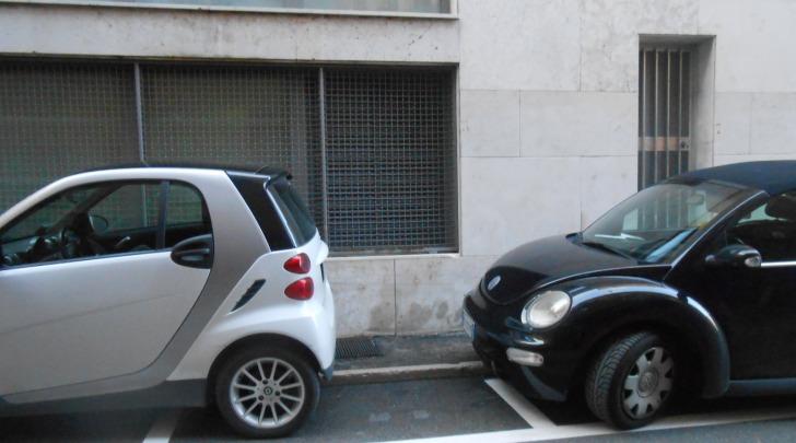 Parcheggi in via Vicentini
