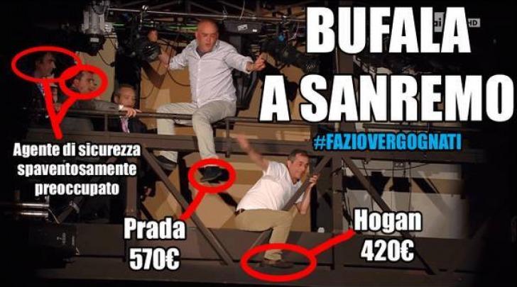 #Faziovergognati