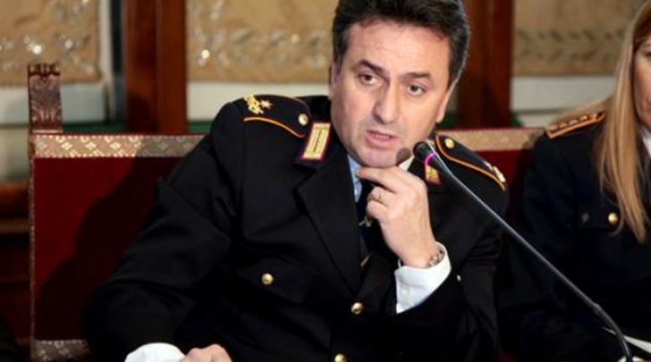 ex comandante della Polizia Municipale di Roma Angelo Giuliani
