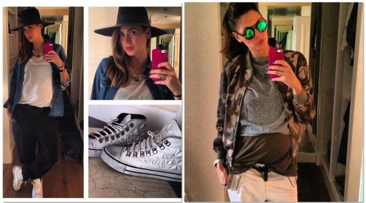 Melissa Satta, Fashion col pancione