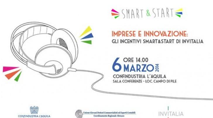 Smart&Start, Invitalia il 6 marzo a L'Aquila