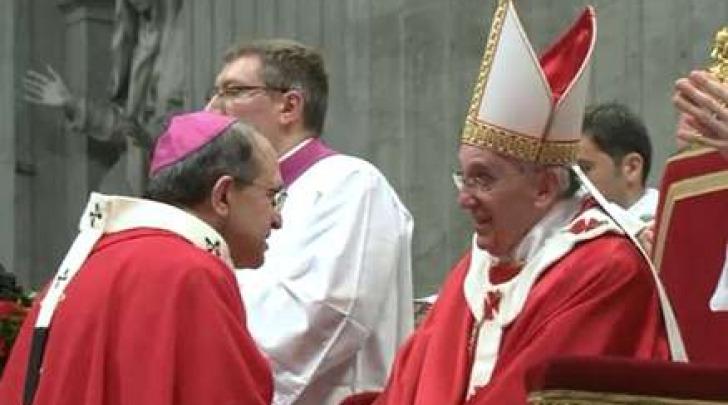 Giuseppe Petrocchi e Papa Benedetto