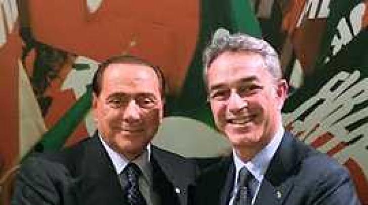 Silvio Berlusconi e Nazario Pagano