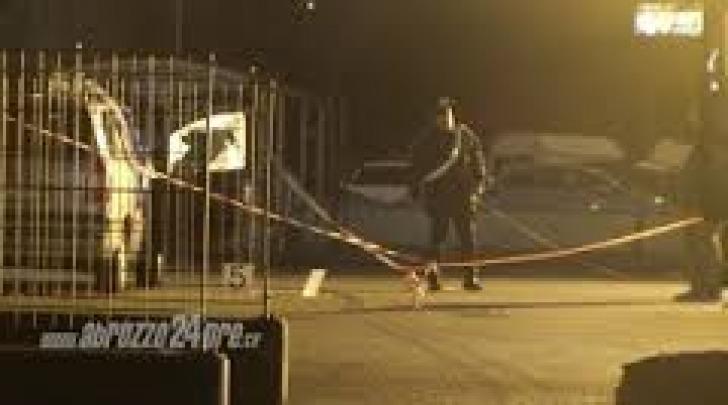 La scena del duplice omicidio a Bazzano il 17 gennaio 2013
