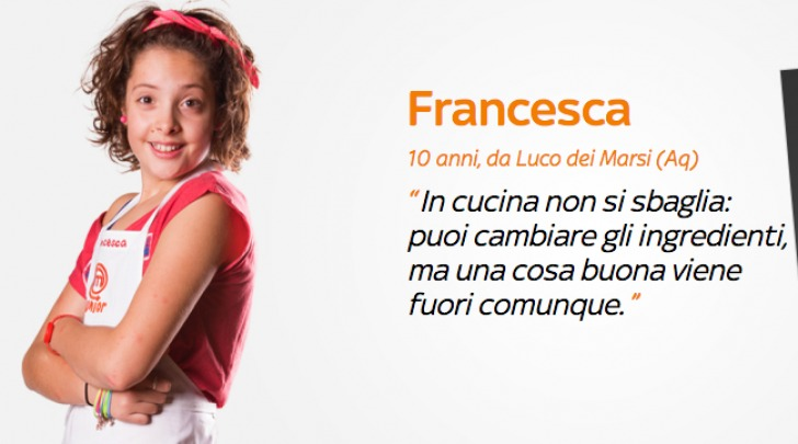 Francesca Junior Masterchef