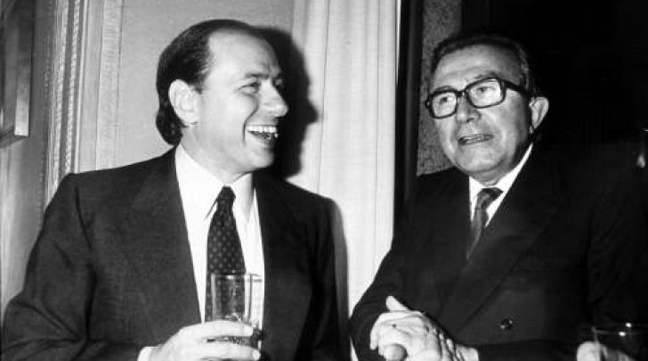 Silvio Berlusconi e Giulio Andreotti