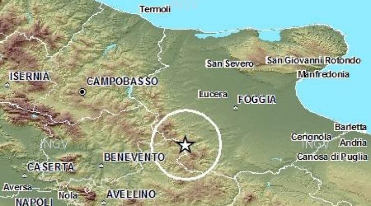 Scossa terremoto tra Puglia e Calabria