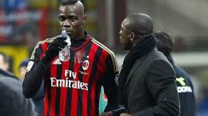 Mario Balotelli e Clarence Seedorf