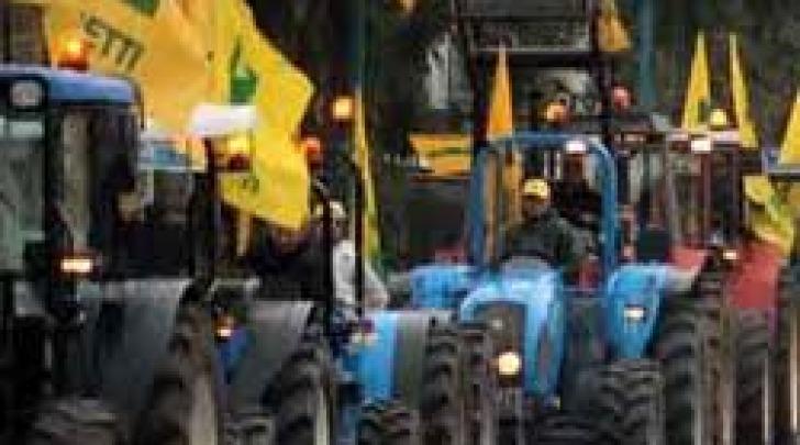 Manifestazione agricoltori