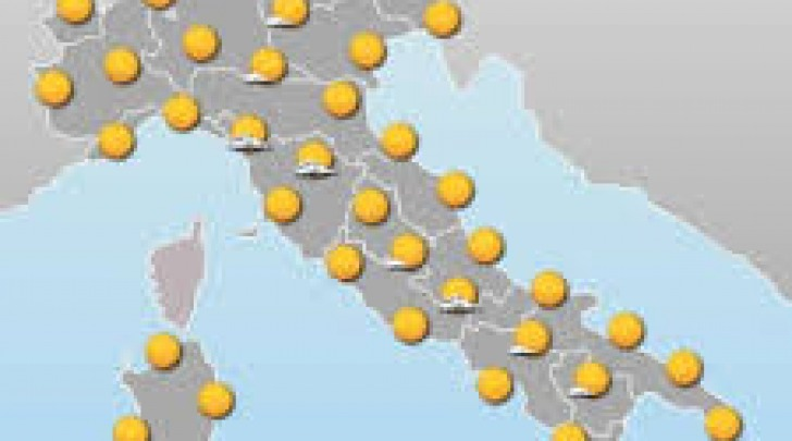 Cartina meteo -sole