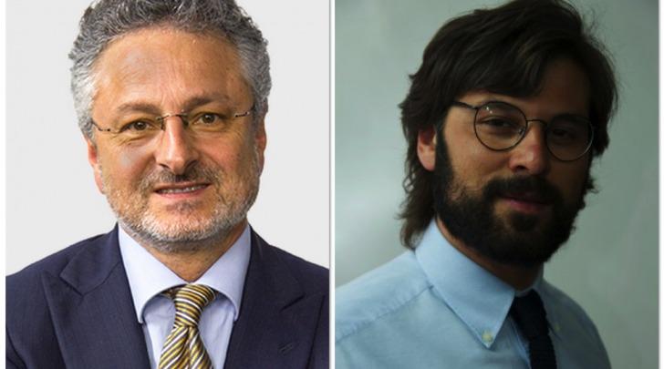 Pierpaolo Pietrucci e Alfredo Moroni