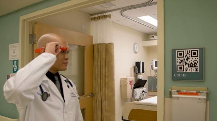 dottor Steve Horng e Google Glass