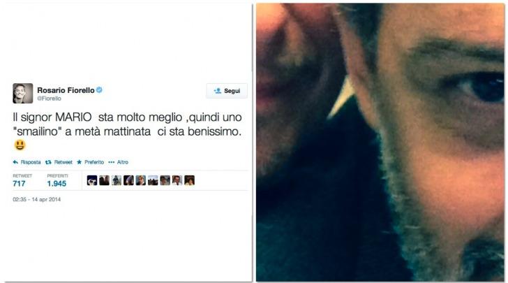 Fiorello torna su twitter