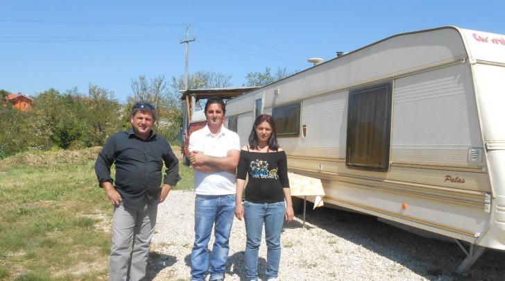 Famiglia sfrattata a Cepagatti
