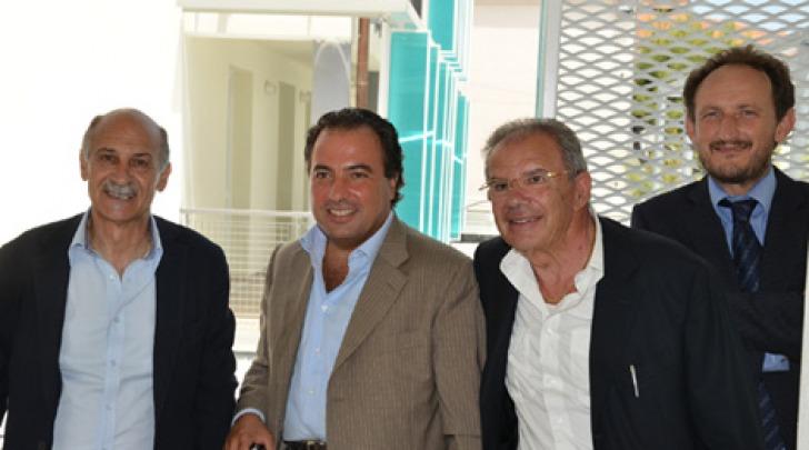 Marcello Lancia, Fabrizio Di Stefano, Domenico Recchione