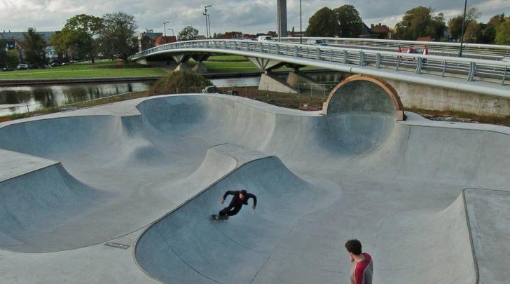 Uno skatepark