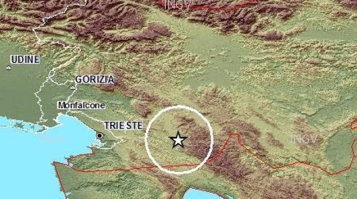 Terremoto Slovenia Trieste