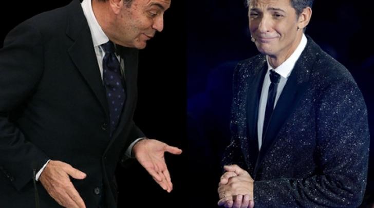 Bruno Vespa e Fiorello