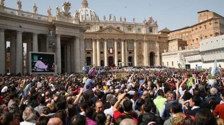 Croce Rossa piazza San Pietro