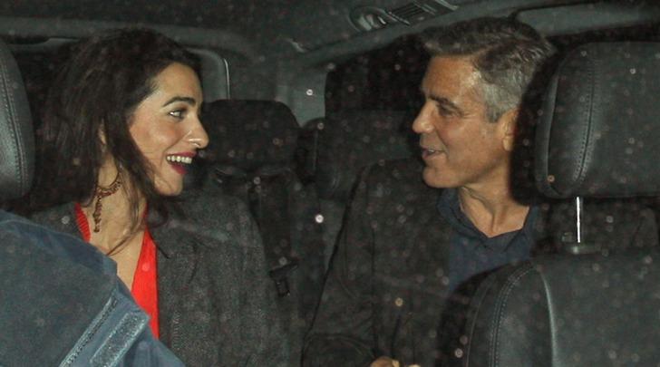 George Clooney ed Alma Alamuddin