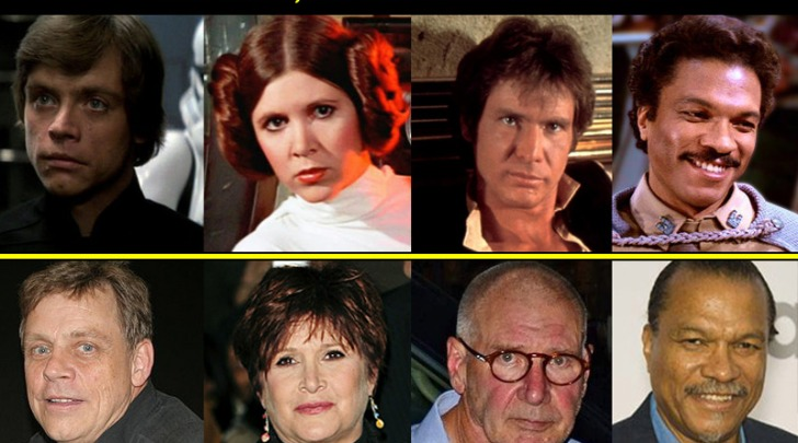 "Star Wars: Episodio VII cast ""anziano"""