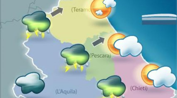 Tempo in peggioramento in Abruzzo