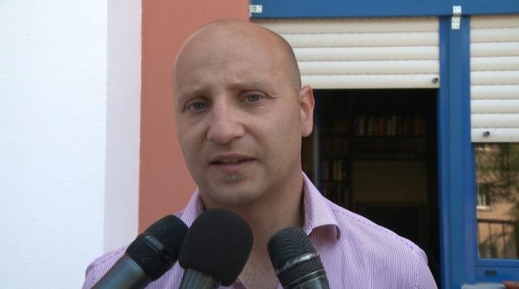 Il direttore amministrativo Fabio Aureli