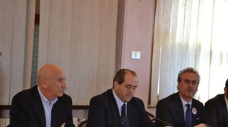 Antonio Di Pietro e Alfonso Mascitelli