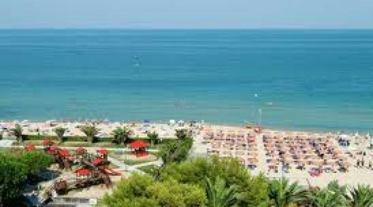 La spiaggia di Alba Adriatica