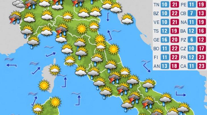 Previsioni Italia