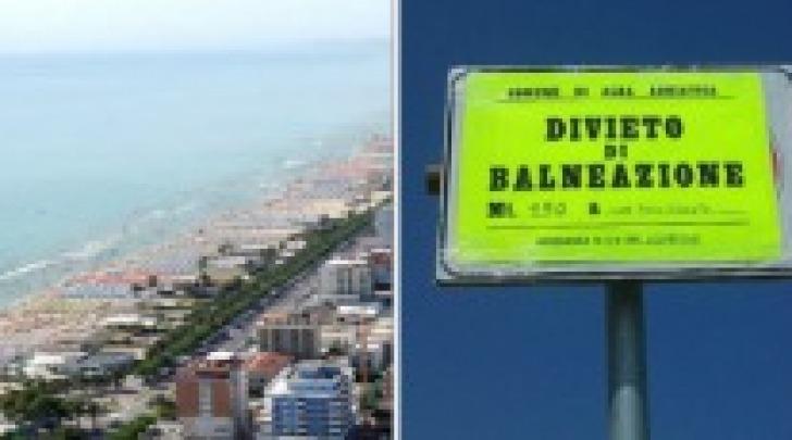 Divieto di balneazione su un tratto della spiaggia albense
