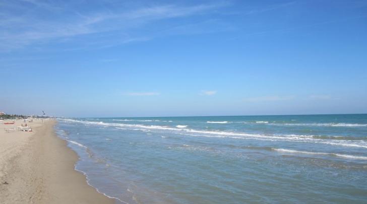 La spiaggia di Tortoreto