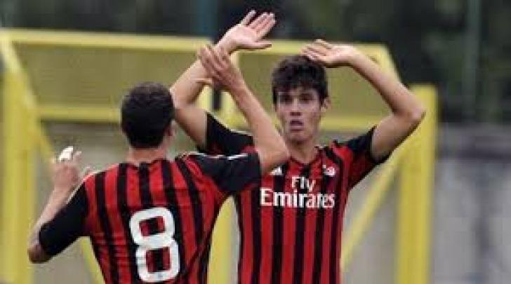 Marco Pinato con la maglia del Milan