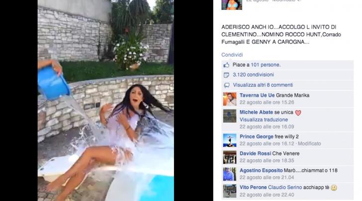 Marika Fruscio Ice Bucket Challenge