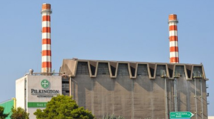 Lo stabilimento Pilkington di San Salvo
