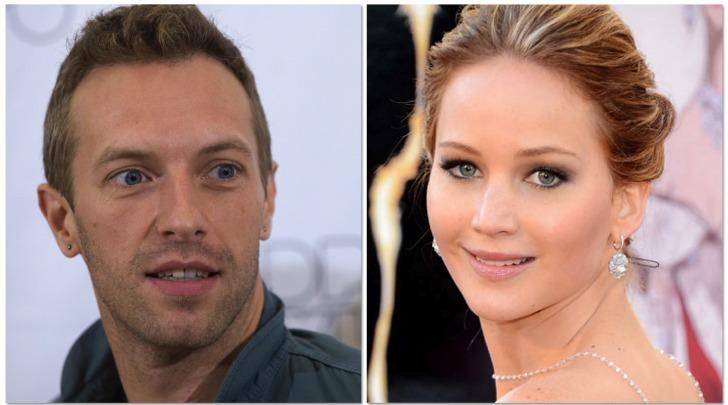 Chris Martin e Jennifer Lawrence