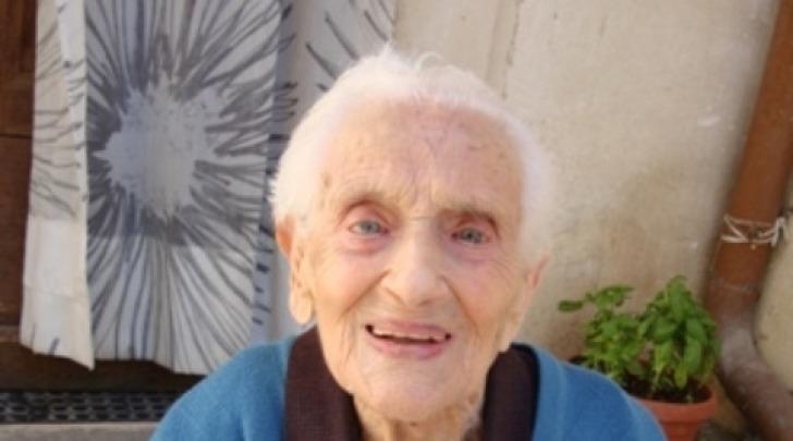 """Pia Carosi, per tutti """"zia Pietta"""" (foto tratta dal sito www.tussio.it)"""