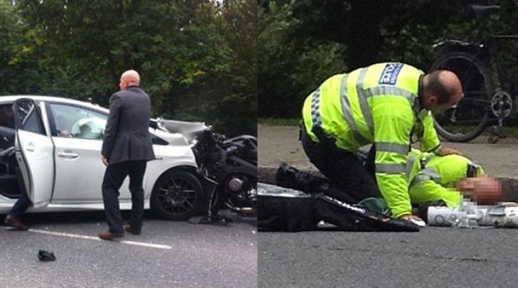 incidente automobilistico Principe Harry