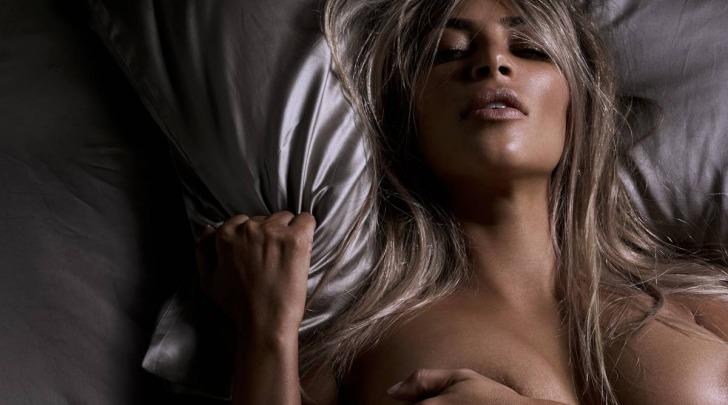 Kim Kardashian Nuda su GQ UK