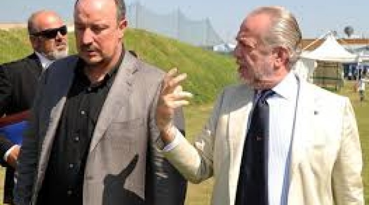 Rafa Benitez ed Aurelio De Laurentiis