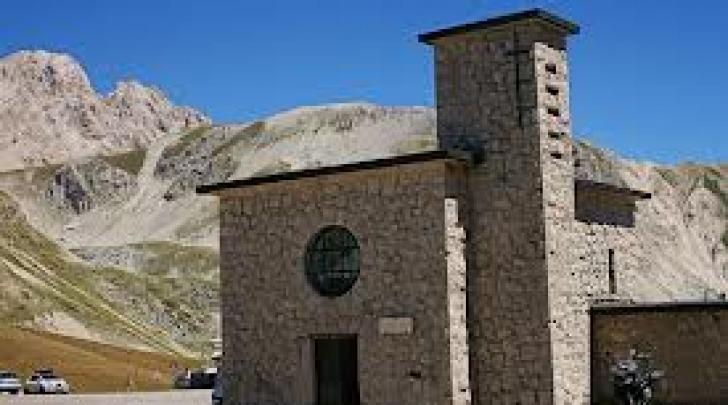 La chiesa di Madonna della Neve di Campo Imperatore