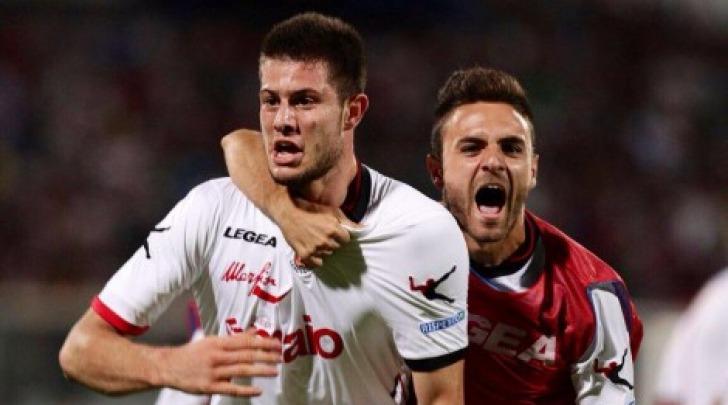 Alberto Cerri, terzo gol stagionale per lui